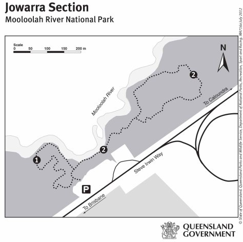 Mooloolah River National Park maps